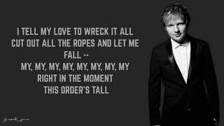 Gambar cover Ed Sheeran - Skinny Love (Lyrics)