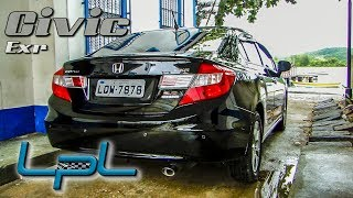Honda Civic EXR 2014 Test Drive (Lama No ParaLama)