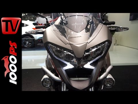 Honda Motorrad Neuheiten   Vienna Autoshow 2015 Foto