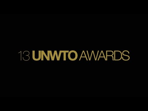 13th UNWTO Awards Ceremony & Gala Dinner  18 January 2017 Madrid, Spain