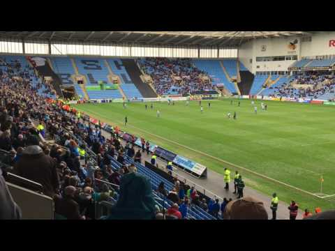 Coventry City Relegated to League 2