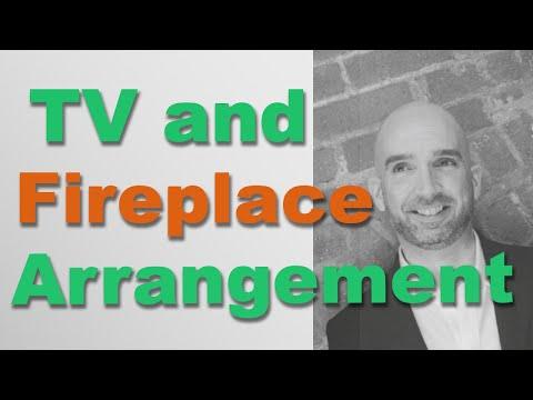 Fireplace and TV Arrangement