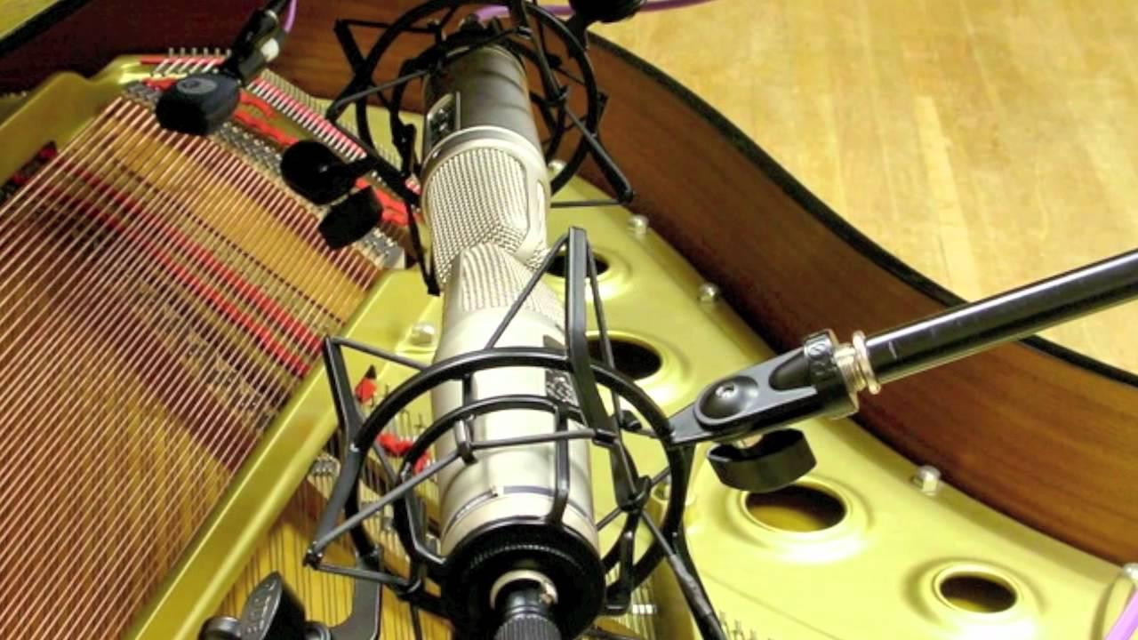 Blumlein Stereo Microphone Technique - YouTube