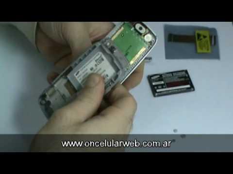 Colocación de Flex Samsung E256 - OnCELULAR