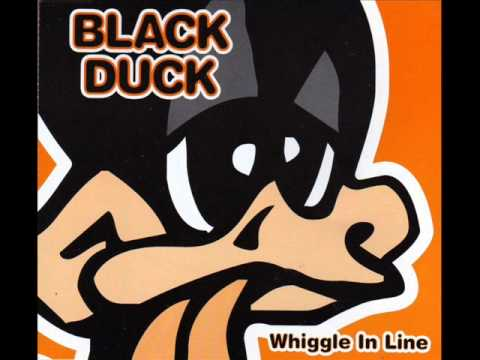 Wiggly in line - Black Duck