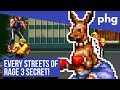 Streets Of Rage 3 Cheats and Hidden Characters BONANZA!
