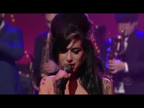 Amy Winehouse  Rehab  on David Letterman