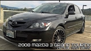 2008 Mazda 3 Grand Touring Hatchback Virtual Test Drive