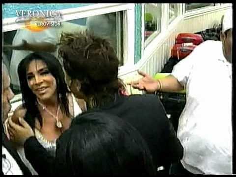 Verónica Castro dentro de la casa de Big Brother VIP 2005 parte 1