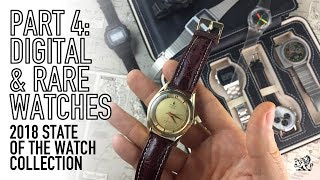 My Collection 2018 Part 4 - Rare & Digital Watches - Universal Geneve, Seiko, Swatch, Casio & More