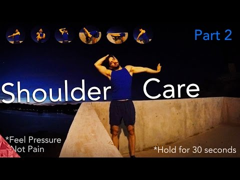 Shoulder care part 2. Swimmer's shoulder