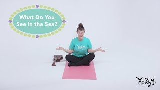 What Do You See in the Sea? (Ukulele) | Kids Yoga, Music and Mindfulness with Yo Re Mi