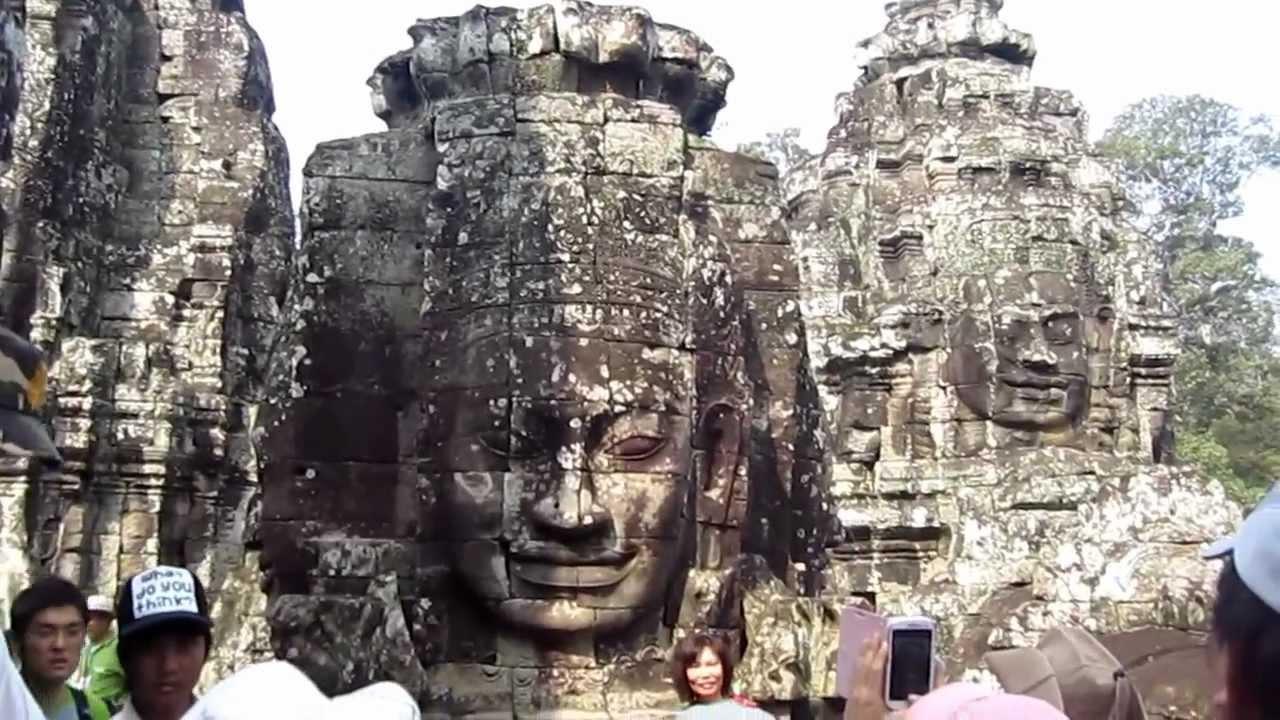 高棉的微笑【巴戎廟】 - YouTube