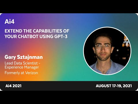 Extend the Capabilities of Your Chatbot Using GPT3