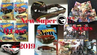 Hot Wheels 2019 Super Treasure Hunt,Pop Culture,Nissan Serie,Q Case And More...Hot Wheels News!!!