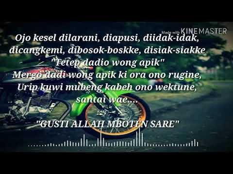 Status Wa Prinsip Urip Bahasa Jawa Story Wa Keren
