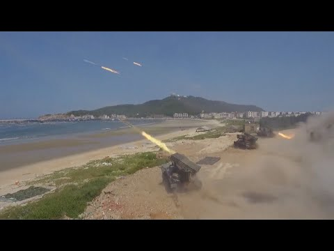 Chinese PLA conducts landing drill to enhance combat, defensive capabilities