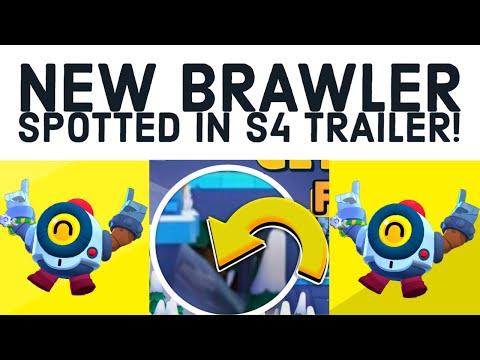 NEW BRAWLER SPOTTED IN SEASON 4 TRAILER? - DECEMBER UPDATE - SNOWTEL - BRAWL STARS NEWS