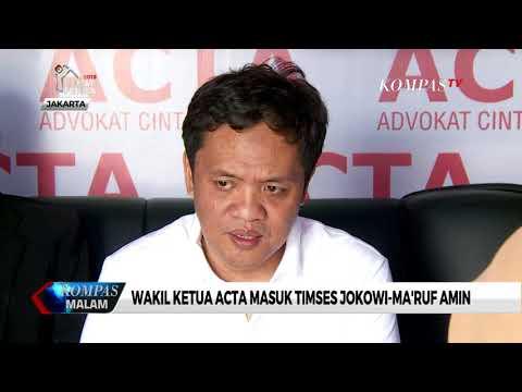 Wakil Ketua ACTA Masuk Timses Jokowi-Ma'ruf Amin Mp3