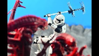 Bandai S.H. Figuarts Star Wars Last Jedi First Order Executioner Review