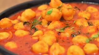 प्याज़ और लहुसन रहित स्वादिष्ट छोले सब्ज़ी-Chole Without Onion and Garlic-Chole for Bhature no Onion