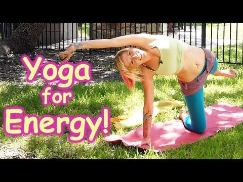 20 Minute Yoga Workout For Energy, Beginners Home Morning Routine How To , Pain Relief & Flexibility