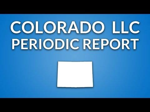Colorado LLC - Annual Report (Periodic Report)
