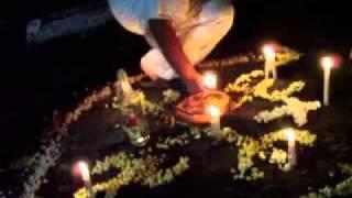 Dia de finados no Cemitério...