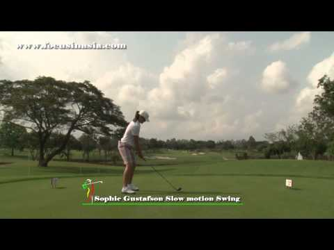 포커스인아시아 LPGA Sophie Gustafson(소피 구스파프슨) GOLF SWING 2011