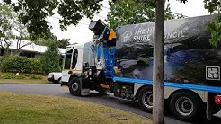 The Hills Shire Council Recycling bin collection the North Sydney garden shire SL01108 Cleanaway au