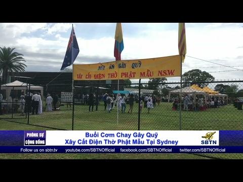 PHÓNG SỰ CỘNG ĐỒNG: Cơm chay gây quỹ xây dựng điện thờ Phật Mẫu tại Sydney