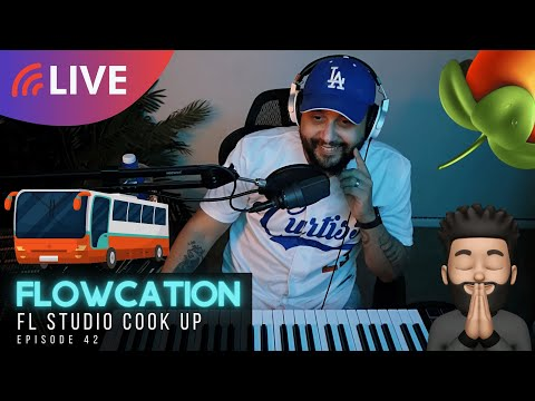 FLOWCATION [ep. 42] Curtiss King Makes A Beat & Song In FL Studio