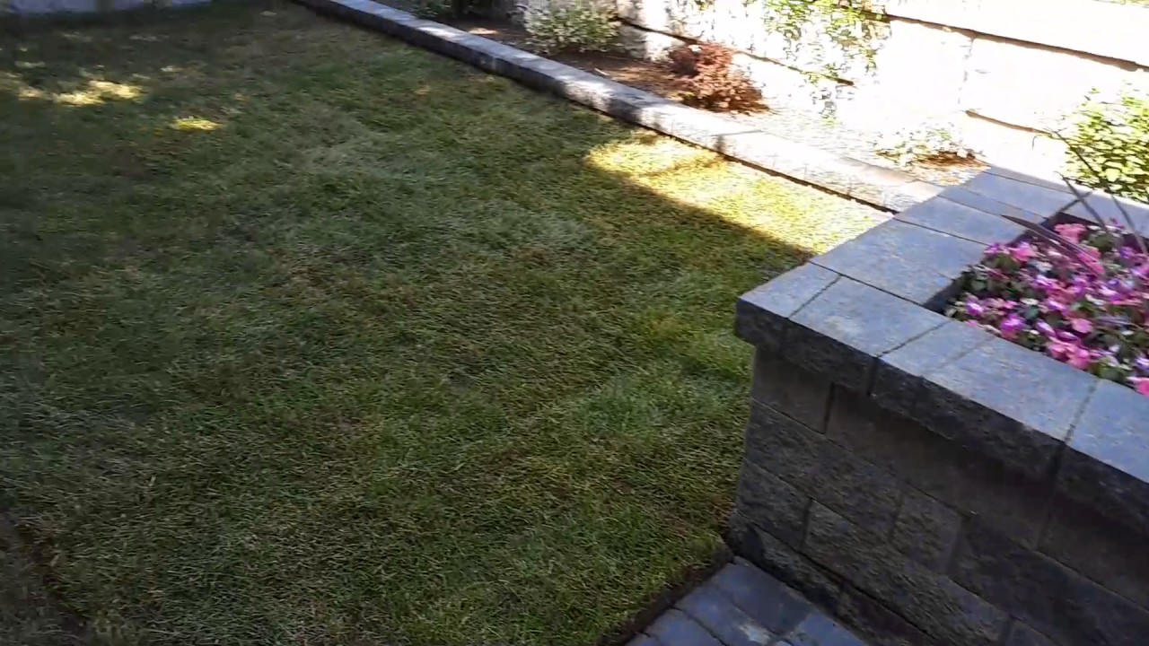 Green side up landscaping allan block furniture - Green Side Up Landscaping Allan Block Furniture - YouTube