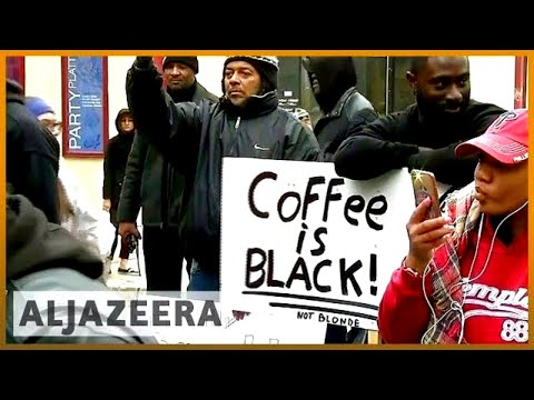🇺🇸 Two black men arrested while waiting at Starbucks | Al Jazeera English