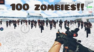 Killing 100 Zombies without dying | Special Forces Group 2 Gameplay screenshot 3