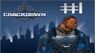 "Crackdown - Gameplay Walkthrough (Part 1) ""War on Crime"""