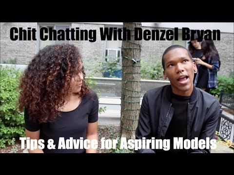 Chit Chatting With Denzel Bryan X Tips & Advice For Aspiring Fashion Models | MostSleptOn