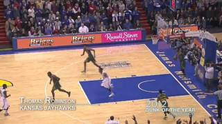 Thomas Robinson - Kansas (2012 Dunk of the Year Nominee)