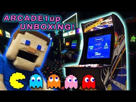 ARCADE Video Games ARCADE 1UP Atari Cabinet UNBOXING