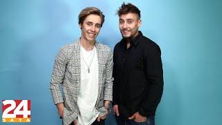 Slovenski pop duo BQL: 'Voljeli bi snimiti pjesmu s Petrom Grašom'  | 24 pitanja