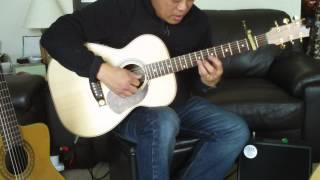 Hail Mary - Gentle Woman hymn comp by Carey Landry. Fingerstyle solo guitar by Allan Khaw