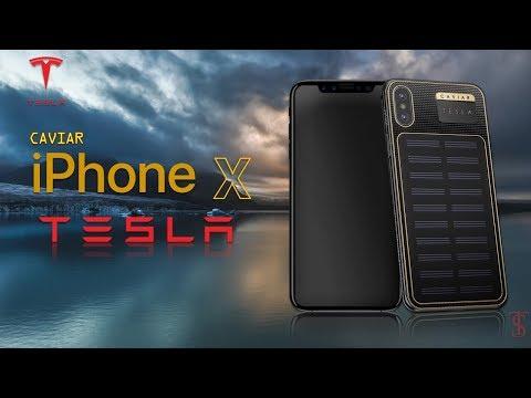 Caviar iPhone X Tesla (Solar Panel) Official Introduction