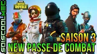 TRAILER OFFICIEL! PASSE DE COMBAT! SAISON 3!! FORTNITE BATTLE ROYAL!
