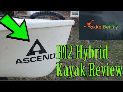 New 2016 ascend fs128t kayak review most stable yak doovi for Ascend 12t trolling motor