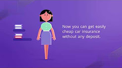 Cheap Car Insurance No Deposit - How to Get Online Car Insurance Quick Quote
