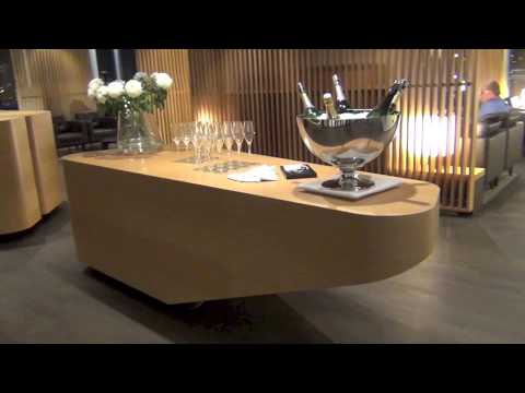 SWISS AIRLINES | NEW | First Class Lounge | V.I.P. TRAILER | Airport Zürich | Star Alliance
