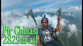 Paragliding at Pir Chinasi, AJK, Pakistan in July 2K17
