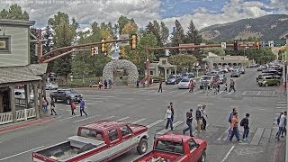 Jackson Hole Wyoming USA Town Square - SeeJH.com