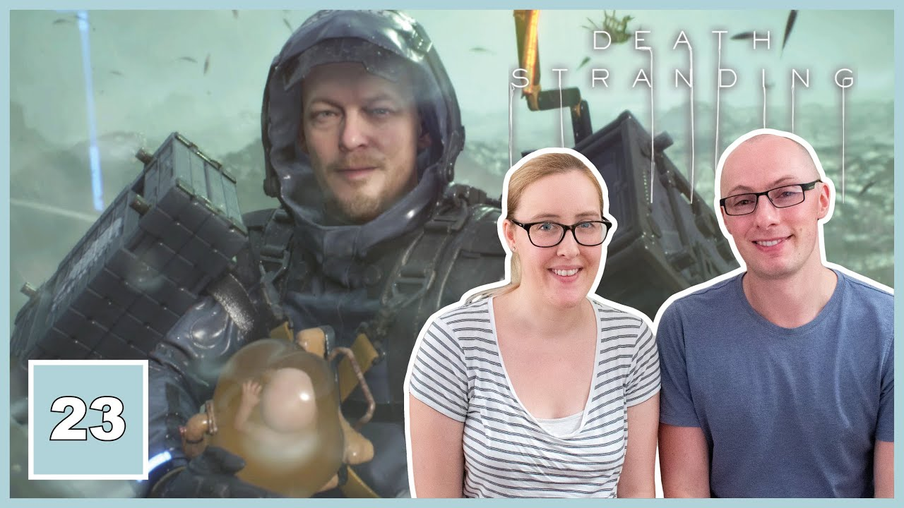 LET'S PLAY | Death Stranding - Part 23 | JOURNEY TO LAKE KNOT, DIE-HARDMAN & CLIFFORD UNGER BOSS!