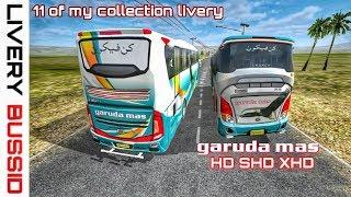 Kumpulan Livery bussid Garuda Mas HD SDD SHD XHD